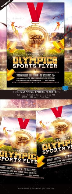 Lifter 2K15 Championships Sports Flyer Flyer template, Template - sports flyer template