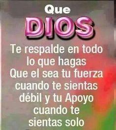 Dios es mi fuerza!!!!