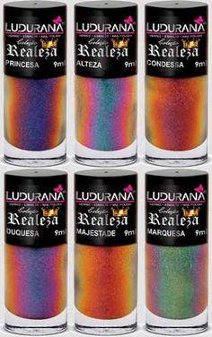 Ludurana Realeza (Royalty) nail polish collection