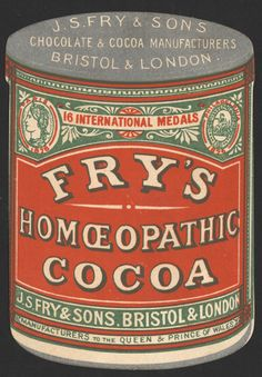 Homeopathic Cocoa! I always knew it was good for me. :-)