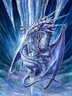 mitologicos - ice dragon
