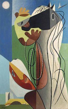 'Le lasso' (1939) by Leopold Survage