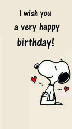 I wish you a very happy birthday - Happy Birthday Funny - Funny Birthday meme - - I wish you a very happy birthday The post I wish you a very happy birthday appeared first on Gag Dad. Happy Birthday Quotes For Friends, Happy Birthday Wishes Cards, Happy Birthday Pictures, Happy Birthday Funny, Funny Happy, Snoopy Birthday Images, Happy Birthday Charlie Brown, Happy Day Quotes, Birthday Sayings