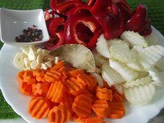 Hellena ...din bucataria mea...: Salata de ghebe - pentru iarna Waffles, Breakfast, Food, Salads, Meal, Eten, Meals, Waffle, Morning Breakfast
