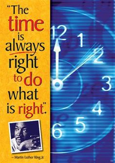 """""""The time is always right to do what is right."""" - Martin Luther King Jr. This #Argus poster is the perfect #classroomdecor for Martin Luther King Jr. Day and Black History Month! #BlackHistory #MartinLutherKingJr"""