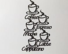 Check out Coffee sign on LeatonMetalDesigns