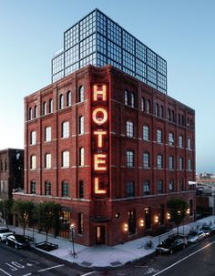 Wythe Hotel. My favorite spot in NYC.