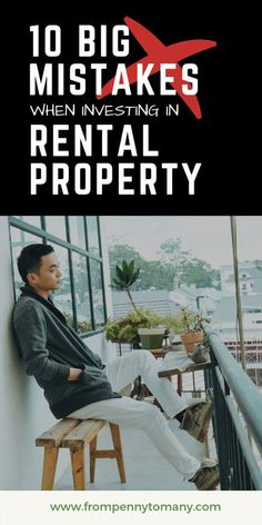10 BIG MISTAKES when investing in rental property Investment Property, Rental Property, Investing Apps, Dividend Investing, Real Estate Articles, Early Retirement, Frugal Tips, Financial Planning, Money Saving Tips