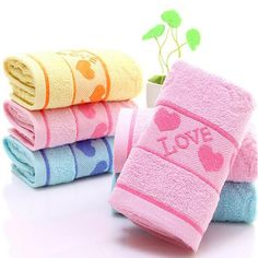 SHARE & Get it FREE | 3 Pcs Home Washing Towels Set Modern Sweet Hearts Pattern Supple Face TowelsFor Fashion Lovers only:80,000+ Items • New Arrivals Daily • Affordable Casual to Chic for Every Occasion Join Sammydress: Get YOUR $50 NOW!