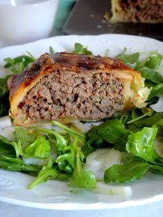RAPA TACHOS: Rolo de carne em massa folhada