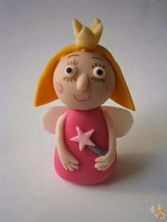 Make me a cake: Little Kingdom - Princess Holly gumpaste figure tutorial