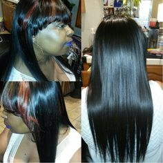 Full weave with color
