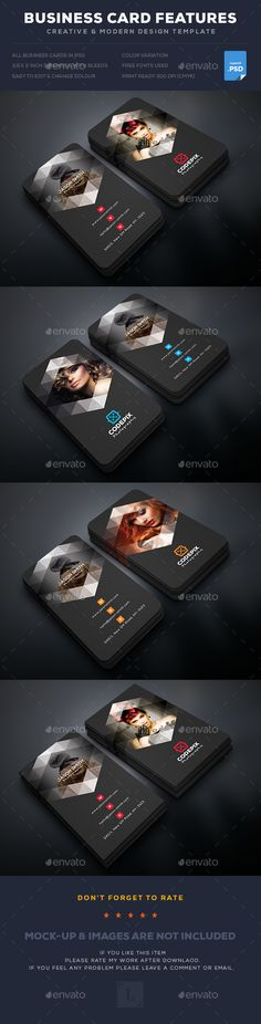 Photography Business Card Template PSD. Download here: https://graphicriver.net/item/photography-business-card/17338226?ref=ksioks