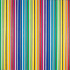 "Gabriele Evertz, Twelve Hues Three Grays (Optic Drive), Acrylic on canvas, x 60 "" Colour Field, Op Art, Phone Wallpapers, Artsy Fartsy, Art Gallery, David, Stripes, Abstract, Canvas"