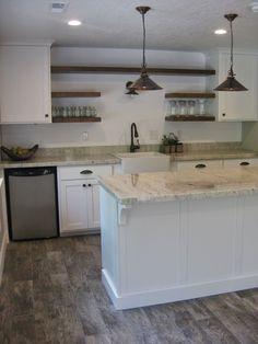 porcelain stoneware floor tiles; color option (montagna rustic bay: home depot)