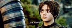 Her catchphrase is dark as hell. | 27 Reasons Arya Stark Is The Baddest Bitch In Westeros