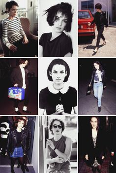 Fashion inspiration: Winona Ryder in the 90s