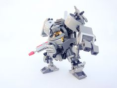 lego mech suprk II | our first lego mech with fully articulating arms and legs. Holds a complete minifig.