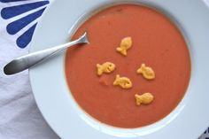 Creamy Tomato Soup. Tastes just like the canned stuff, but with healthier ingredients. Cheaper per serving, too!