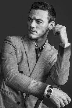Luke Evans for WWD's Men's Week Issue // …. and another one, just because.