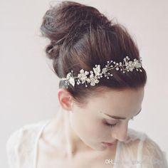 accessori capelli in rilievo d'oro blossom capelli vine copricapo in rilievo copricapo da sposa