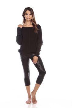 The Camden Sweater in Black