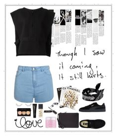 """""""Untitled #360"""" by rhiannonpsayer ❤ liked on Polyvore featuring Fallon, Assouline Publishing, Love Quotes Scarves, adidas Originals, Puma, Moschino, Ally Fashion, Sara Happ, NARS Cosmetics and Forever 21"""