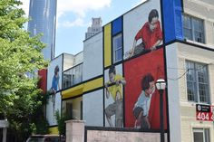 Check out this cool street art in downtown Atlanta.