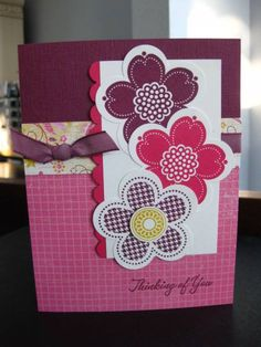 Posy Punch 2 by Kittygirl - Cards and Paper Crafts at Splitcoaststampers
