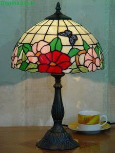 Butterfly Tiffany Lamp12S5-23T305
