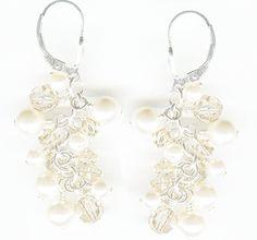 Beach Wedding ideas for Earrings! Rainbow Falls Earrings http://prettyweddingidea.com/