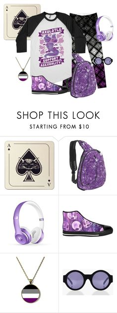 """""""Axolotls Support Asexuality"""" by quript on Polyvore featuring Avenida Home, JWorld and Boohoo"""