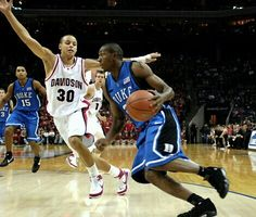 Stephen Curry (Davidson) and DeMarcus Nelson