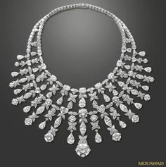 Important Diamond Necklace Mouawad