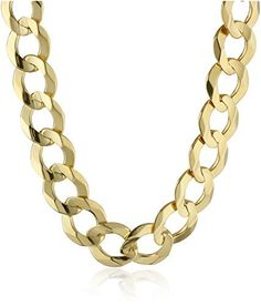 Save on Mens Yellow Gold Cuban Chain Necklace 24 and Versace Chain, Cuban, Special Gifts, Product Description, White Gold, Chic, Prints, Accessories, Jewelry