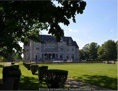 Ochre Court Mansion (now Salve Regina University) in the Newport, Rhode Island.