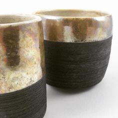 Black & gold series! #piaraku # #pottery #ceramics #contemporaryceramics #keramik #セラミックス #陶器 #céramique #poterie #cerámica #陶瓷 #도기류 #도예 #keramikk #krukmakeri #craft #contemporarycraft #pots-inaction #maker #romantic #craft #raku #楽焼 #worldofartists #art_spotlight #designermaker #cremerging #gold