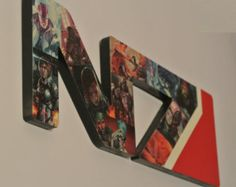 Mass Effect N7 Logo Wall Plaque for Melissa
