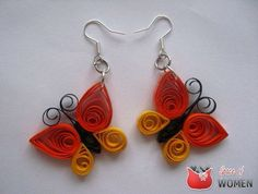 Quilled Paper Earrings