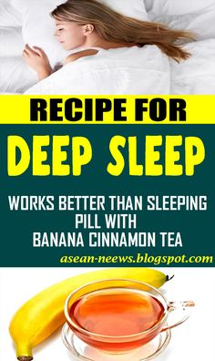 Banana Cinnamon Tea: A Natural Way To Help You Fall Asleep: No More Sleeping Pills! remedies Restlessness is an issue that plagues. Natural Cold Remedies, Cold Home Remedies, Cough Remedies, Herbal Remedies, Health Remedies, Acne Remedies, Banana Cinnamon Tea, Banana Tea, Help Me Fall Asleep