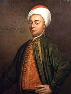 Portrait of a Gentleman in Turkish Dress (oil on canvas)