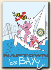 Naptown barBAYq is hosted by the Parole Rotary Foundation, Inc. with all proceeds benefiting the Anne Arundel Medical Center Pediatrics Emergency Inpatient Unit and the Boys & Girls Clubs of Annapolis & Anne Arundel County