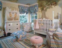 alice in wonderland room! My daughter will have this room, only with vibrant colors!