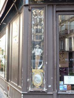 Vitrines, devantures et   enseignes parisiennes.                   Pour la suite de mes pérégrination parisiennes, l'objectif de ...