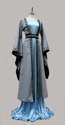 Elvin gown and robe