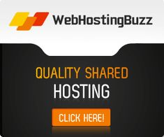 WebHostingBuzz Shared Hosting starting at $4.95 per month