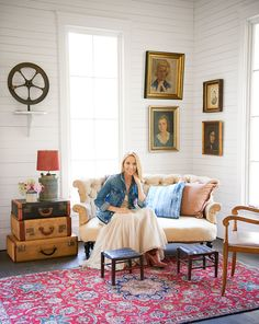 Sheryl Crow constructed the chapel from a mix of reclaimed and new materials. Now, it's the ideal place to sit and read or just enjoy the silence—well, some silence.