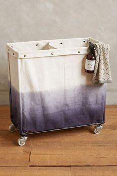 Dip Dyed Laundry Bin - anthropologie.com