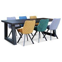 Moderne Eetkamerstoel Shirley Oker Geel Outdoor Furniture Sets, Outdoor Decor, Modern Design, Home Decor, Decoration Home, Room Decor, Contemporary Design, Interior Design, Home Interiors