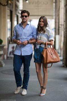 johannes huebl & olivia palermo -- best looking couple EVER